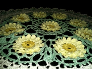 Water Lily Pond Doily